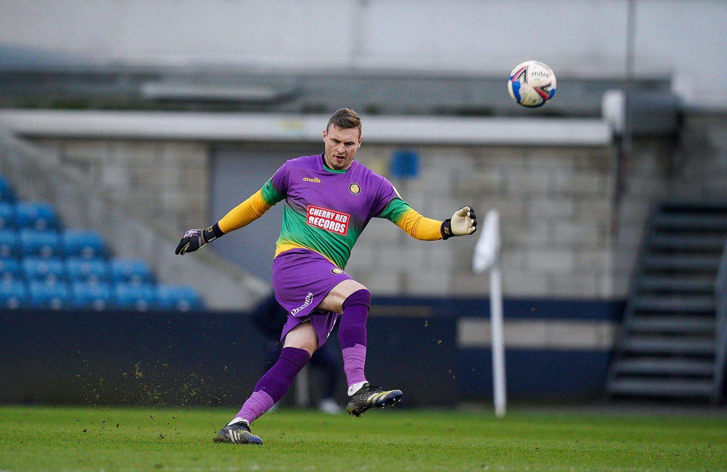 David Stockdale kept his first clean sheet for Wycombe in the 0-0 draw against Millwall (Prime Media)