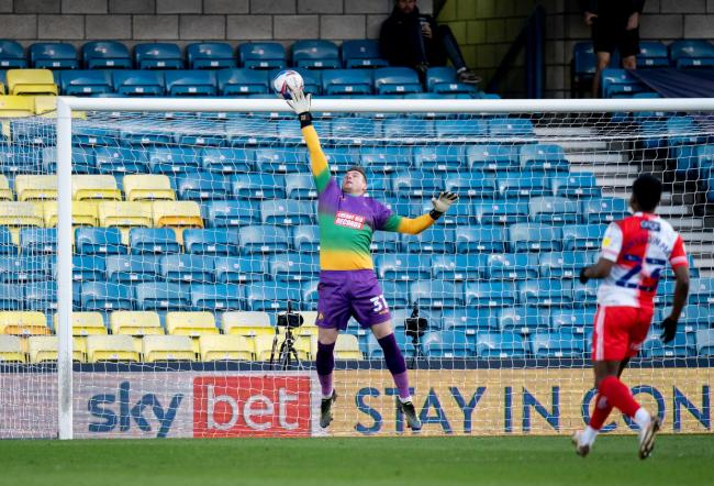 David Stockdale played his first game for Wycombe in over a year (Prime Media)