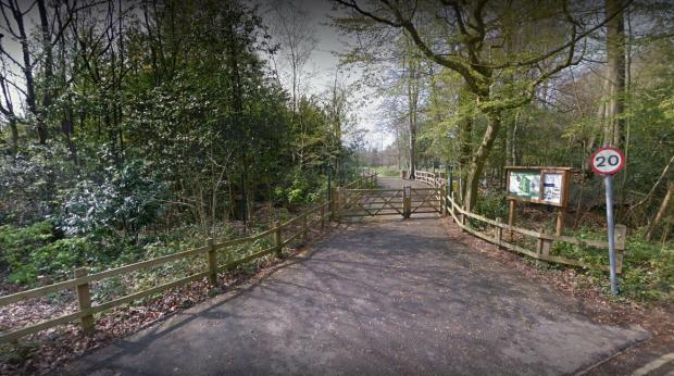 Bucks Free Press: PICTURED: The entrance to the nature park
