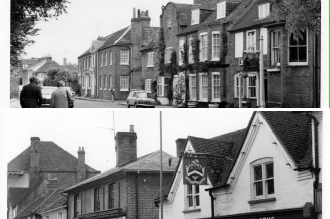 Marlow pubs from the 1970s - here's what they look like today