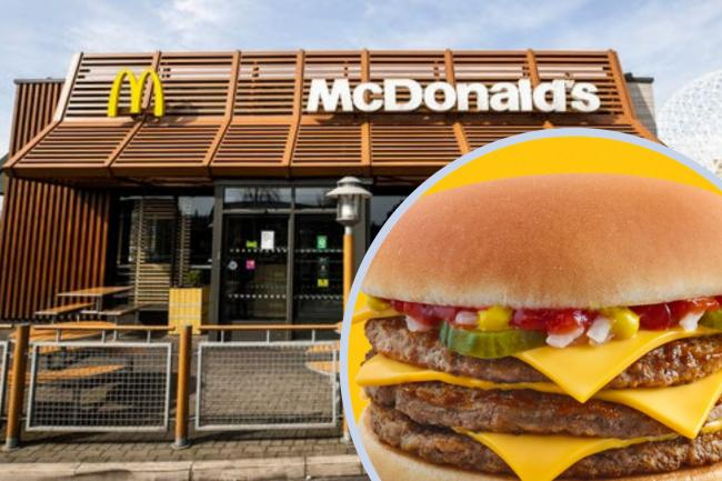 How to claim a McDonald's triple cheeseburger for just 99p. (PA/McDonald's)