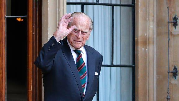 Prince Philip sends message to hospital staffs after leaving hospital. (PA)