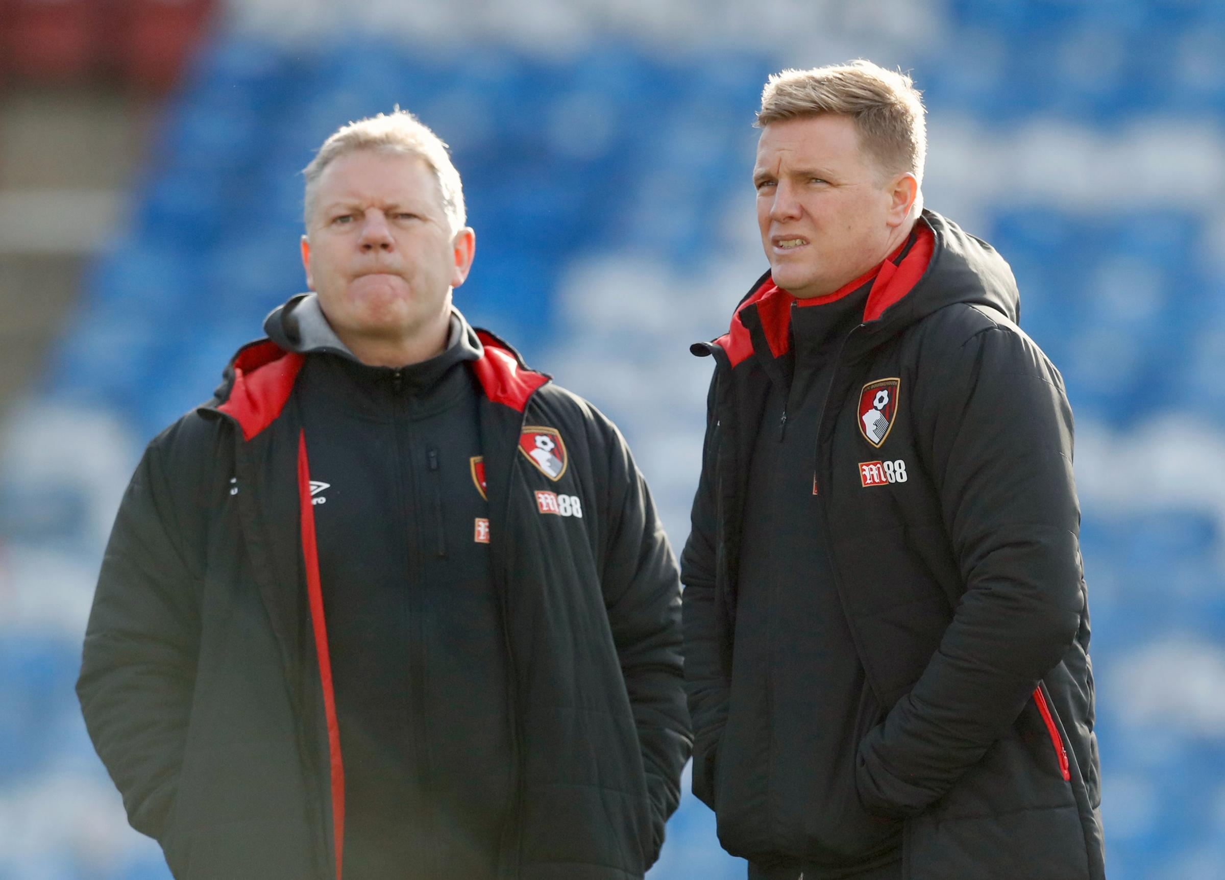 Eddie Howe is best known for being at Bournemouth as a player and as a manager (PA)