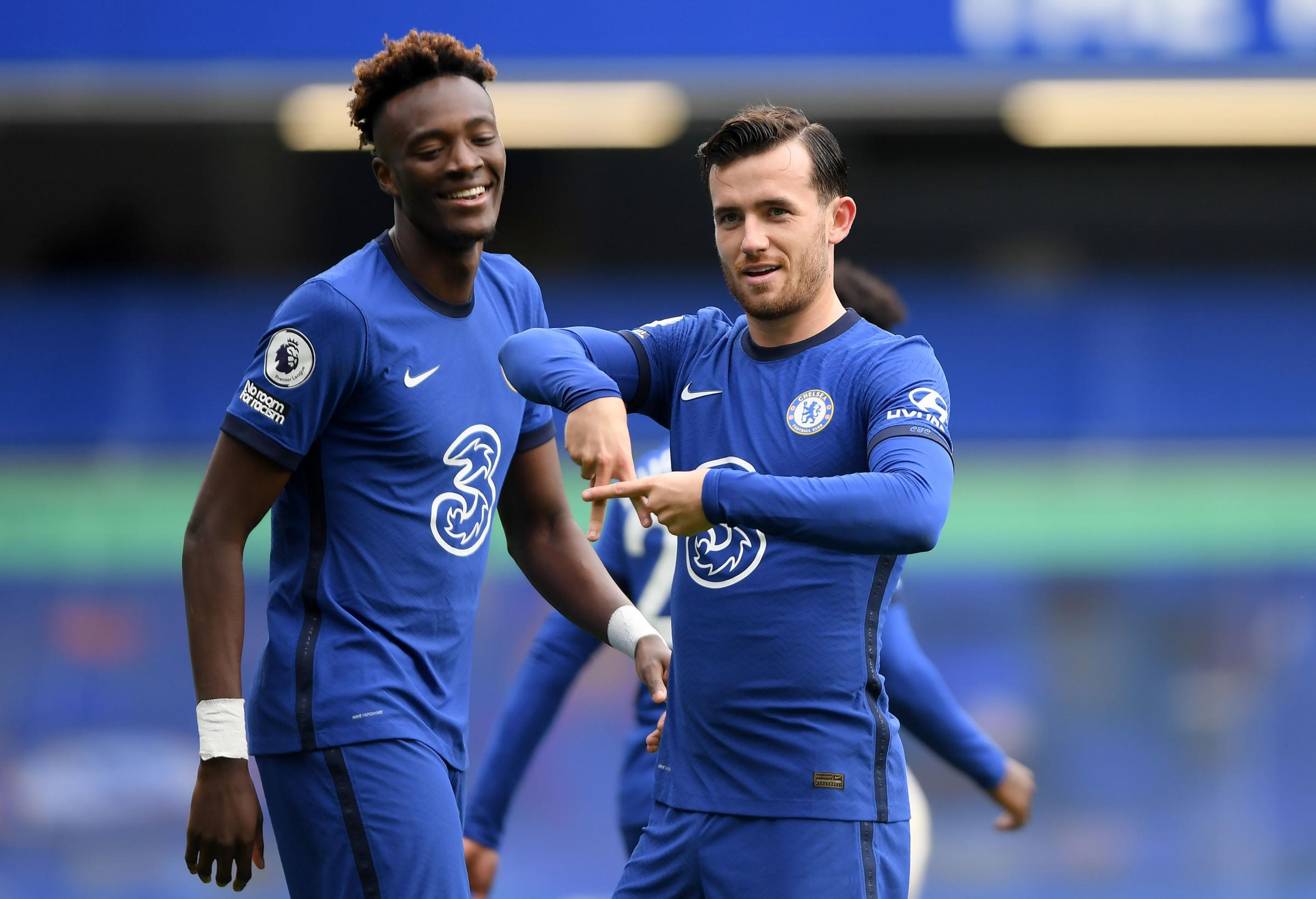 Tammy Abraham (left) and Ben Chilwell (right)