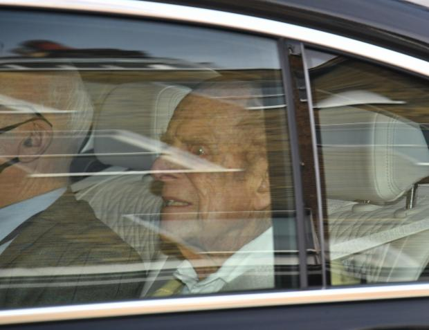 Bucks Free Press: Prince Philip left hospital on Tuesday. (PA)