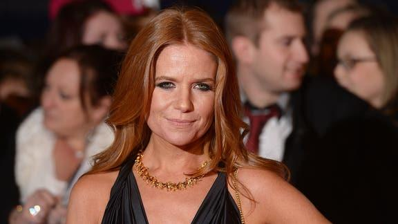 Bucks Free Press: Patsy Palmer took exception to the caption under her name. (PA)