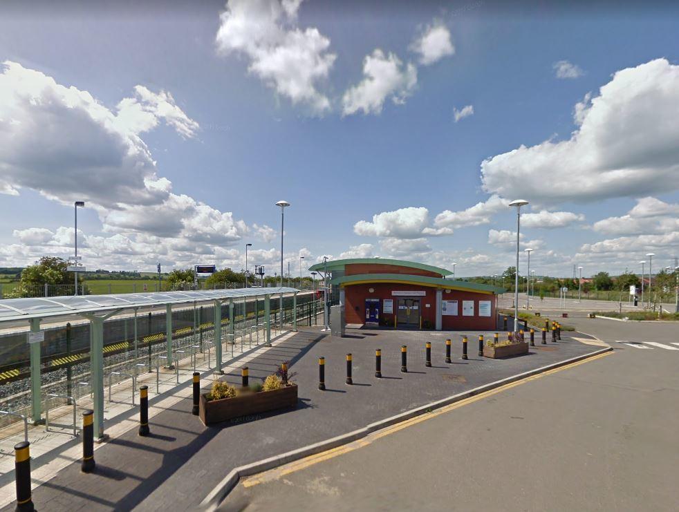 Aylesbury Vale Parkway Railway Station in May 2011