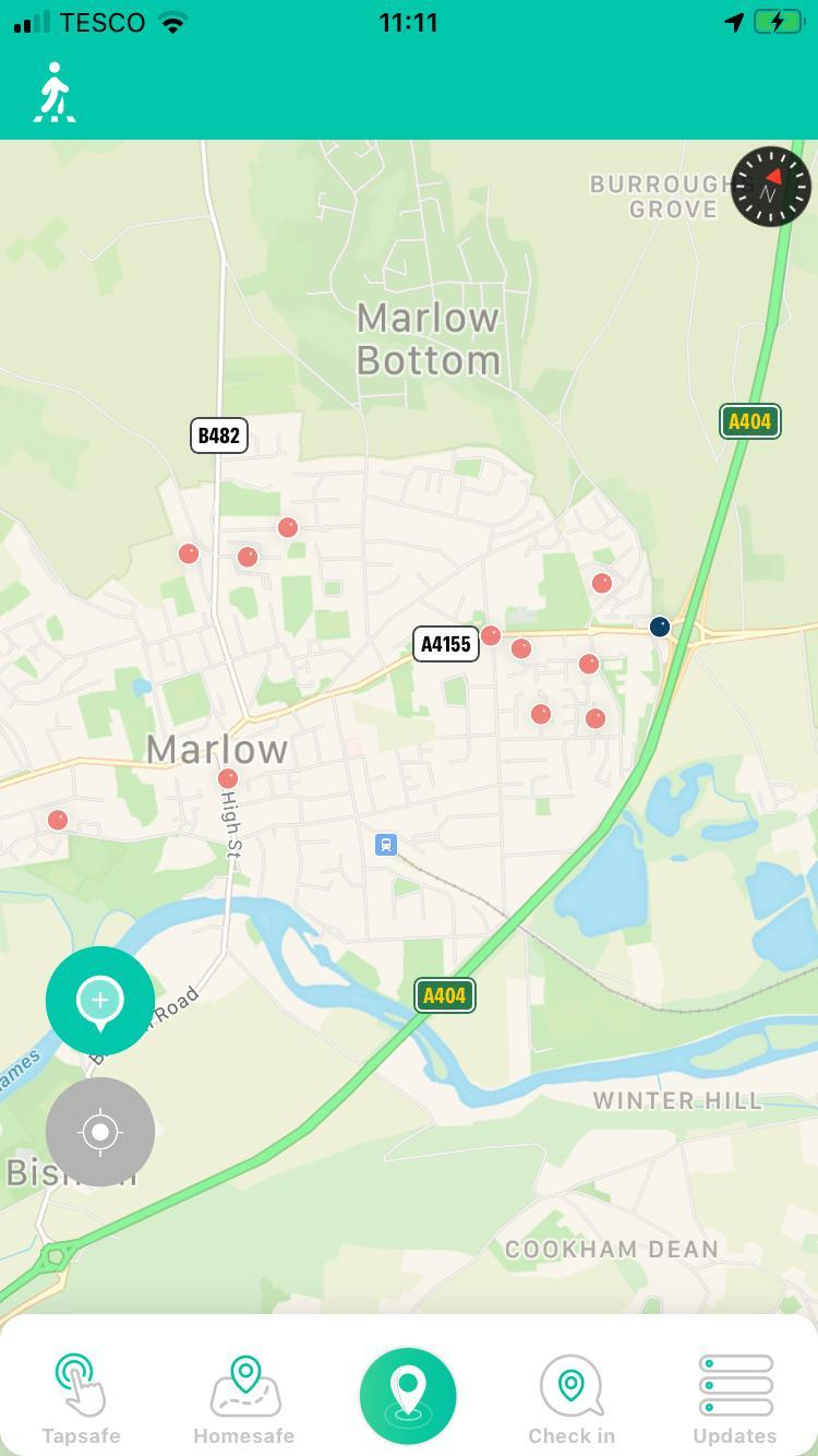 What has been reported in Marlow