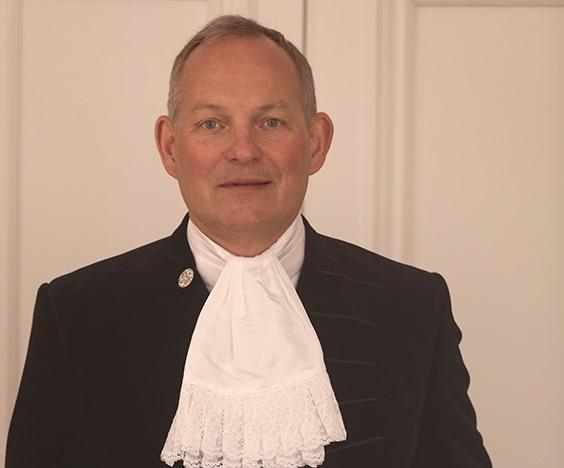 George Anson was sworn in as the new High Sheriff of Buckinghamshire on March 26