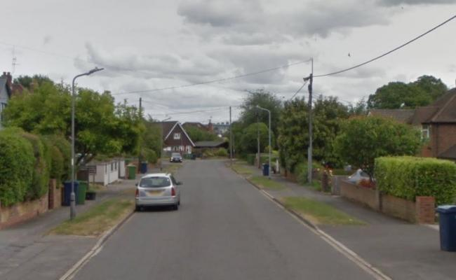 Firefighters were called to Southview Road, Marlow. Picture: Google