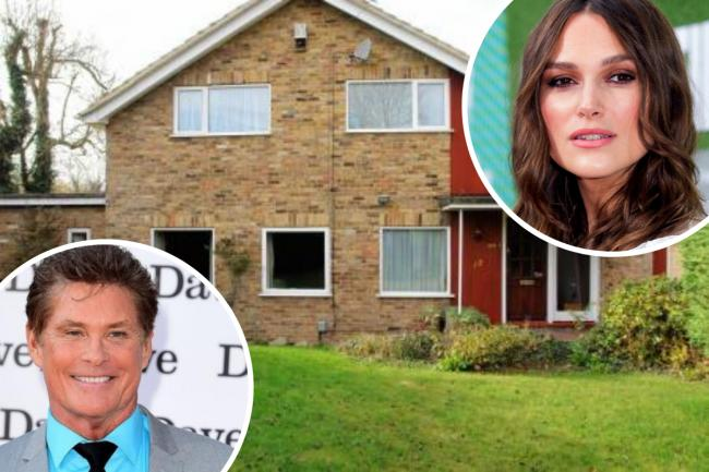 Keira Knightley and David Hasselhoff have filmed in this Bucks home