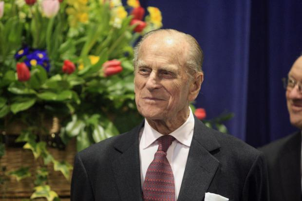 Bucks Free Press: The Duke of Edinburgh visits Woodrow High House, Amersham in 2013