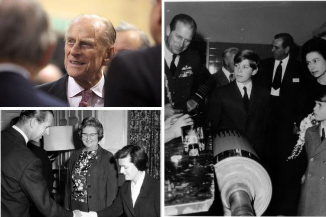Prince Philip has visited Bucks on multiple occasions