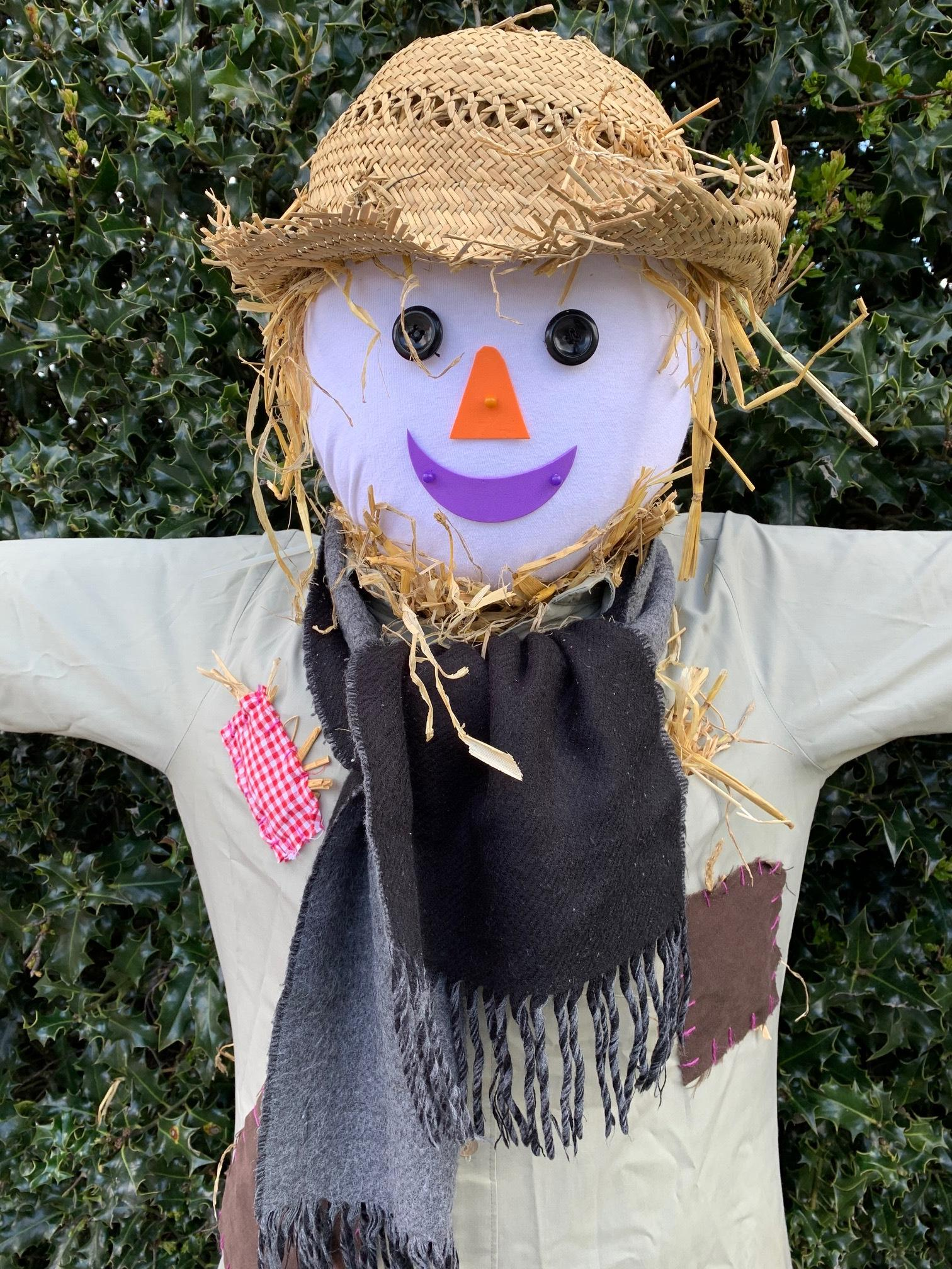 There are lots of scarecrows on show in Stokenchurch