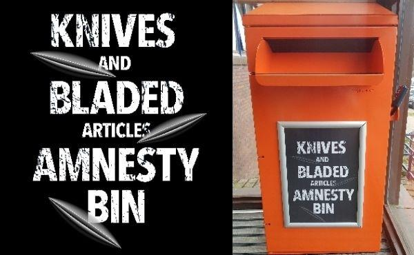 There are several bins across the county