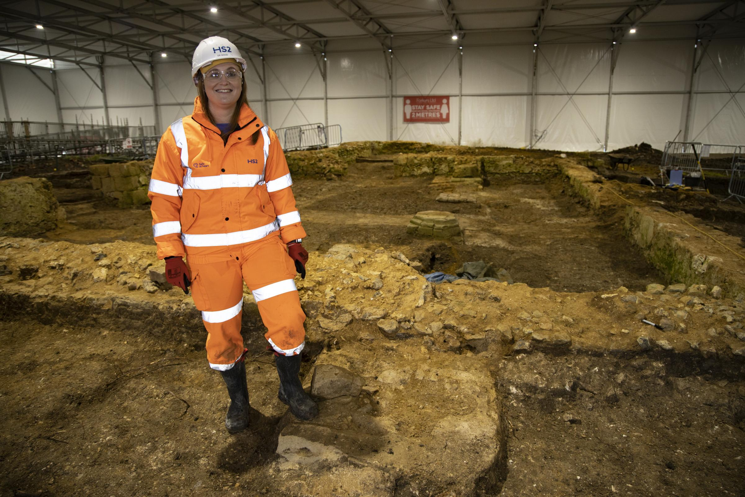 Dr. Rachel Wood, Project Archaeologist for Fusion JV