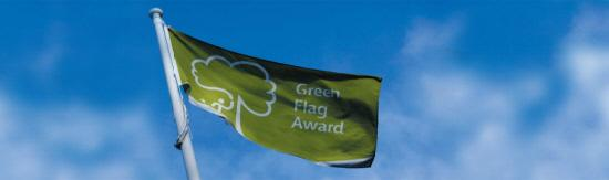 Bucks parks land Green Flag award