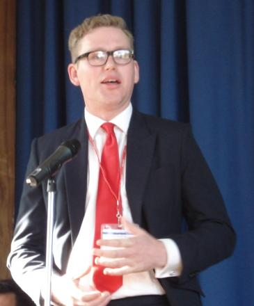 Andrew Lomas during his 2010 General Election campaign