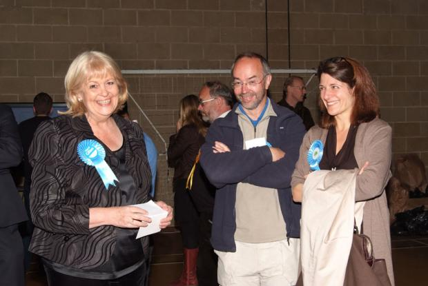 Tory Cheryl Gillan increases her majority