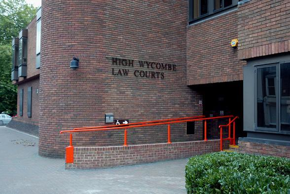 Wycombe Law Courts, where the inquest was heard