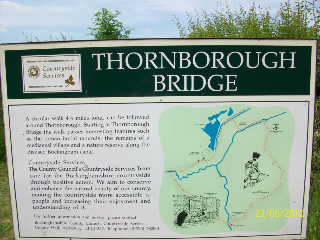 Thornborough road nature reserve
