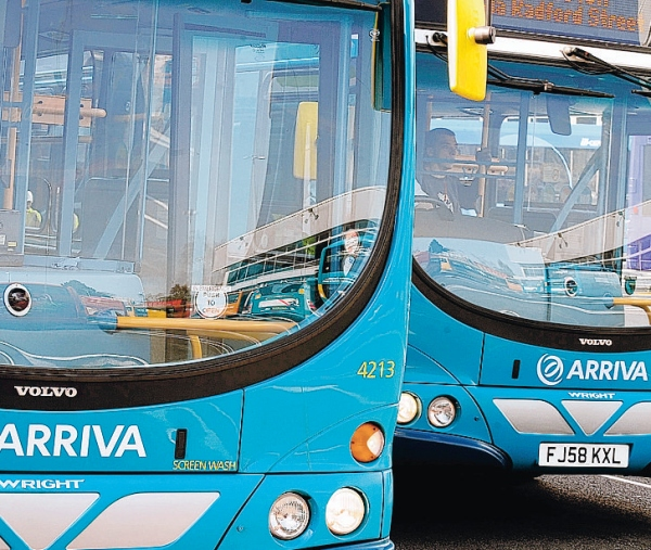 Fares to rise on Arriva Buses