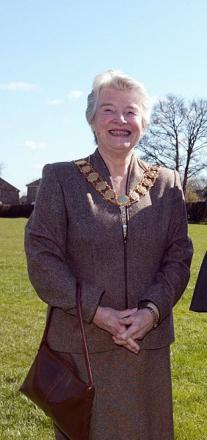 Hughenden Parish Council chairman Peggy Ewart