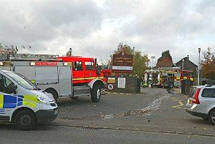 UPDATED: Firefighters tackle blaze at Wycombe grammar school