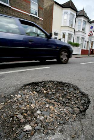 Hit a pothole? Blame Labour, says new Tory chief