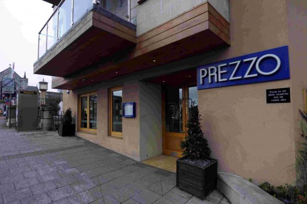 One of the chains of Prezzo