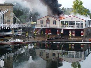 Fire-hit rowing club inundated with enquiries following Olympics