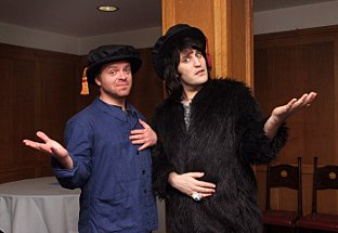 Dave Brown and Noel Fielding