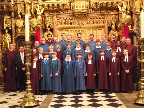 Young choir stands in at London's oldest cathedral church