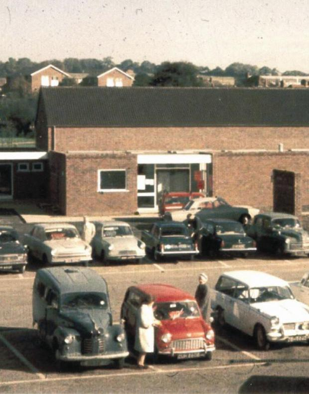 Bourne End Community Centre in its early days.