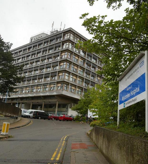 Wards closing at Wycombe Hospital this week