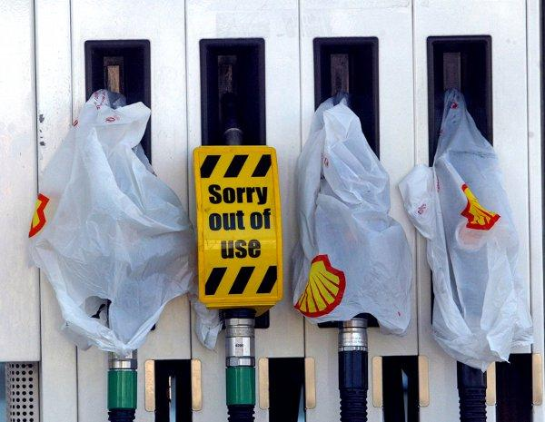 Petrol pump panic: 64 per cent refused to be drawn in