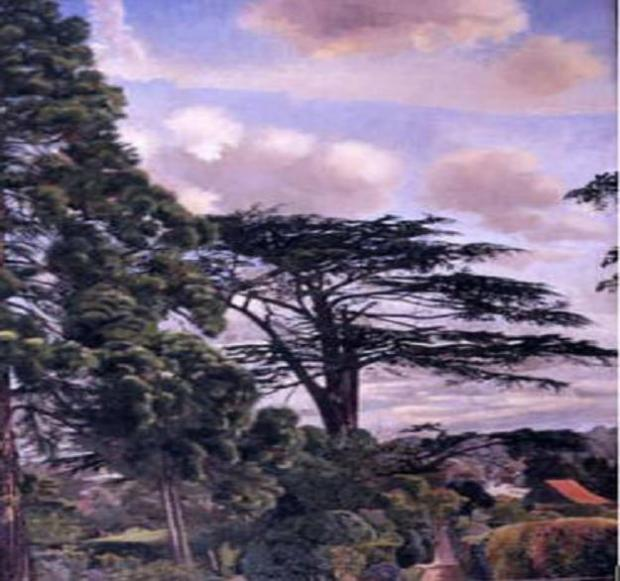 'Cookham from Englefield' which was taken from the gallery