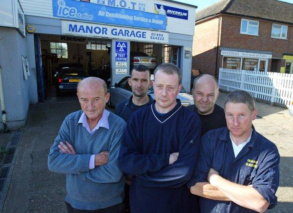 Manor Garage staff