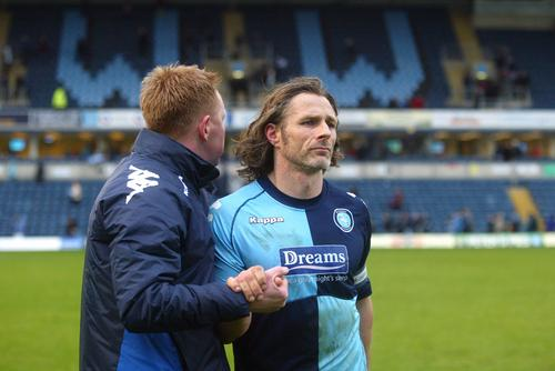 Gareth Ainsworth has made his first signing as Wanderers' caretaker boss