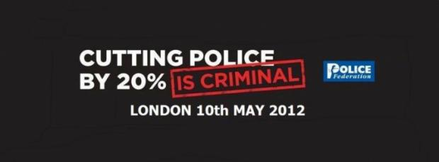 A police federation campaign advert