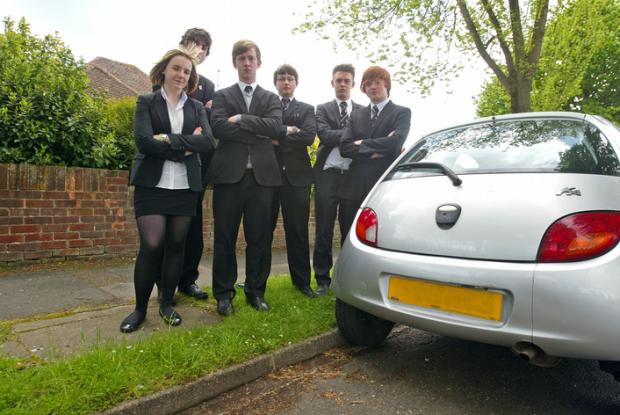 'We park legally, stop harrassing us,' say pupils