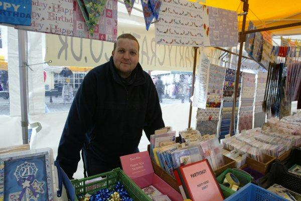 Wycombe market trader: 'Roadwork is denting business'