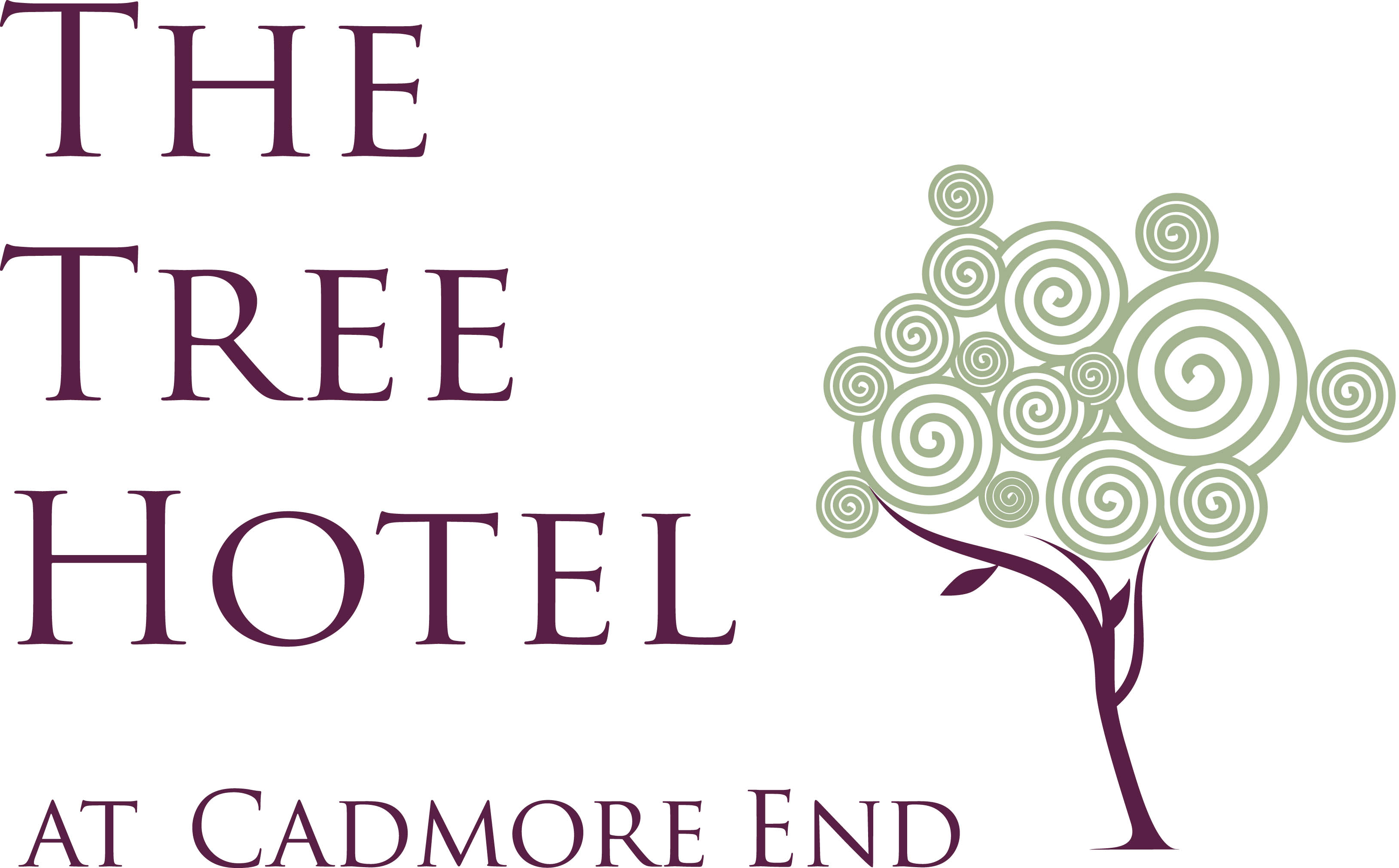 Logo for The Tree Hotel at Cadmore End