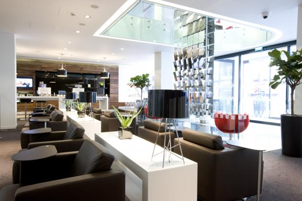 A Regus business lounge in Mayfair