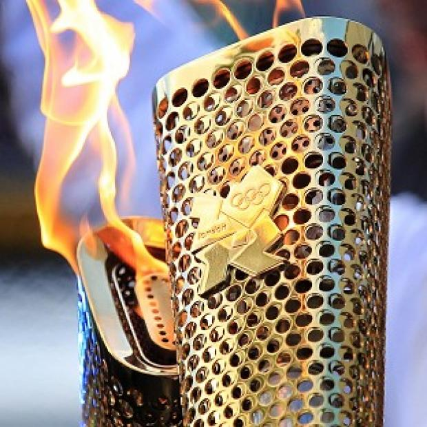 Olympic torch in Bucks area today and tomorrow