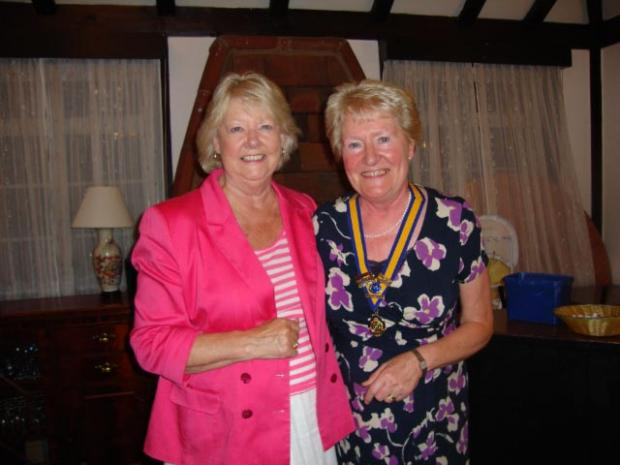 Third time lucky for 'new' Marlow Inner Wheel Club President