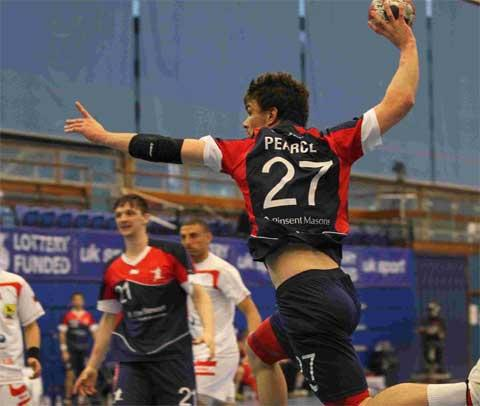 Olympic ambition about to be realised for handball player John Pearce