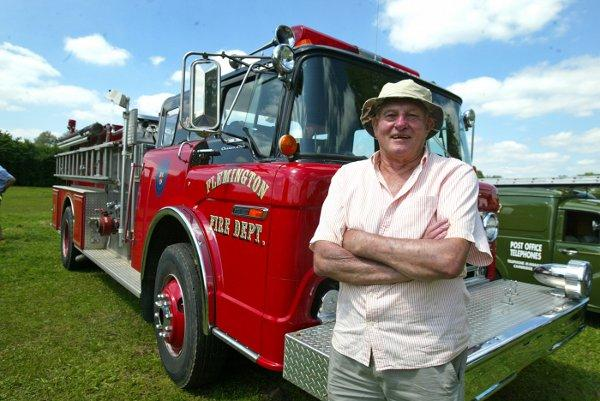 Car show welcomes 9/11 fire engine