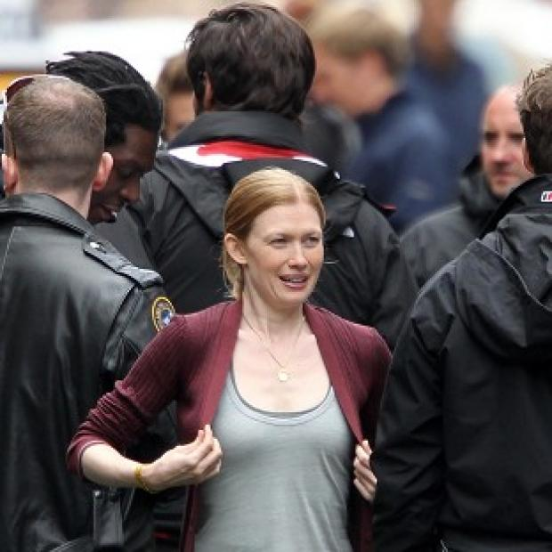 The US version of The Killing, starring Mireille Enos, has been axed