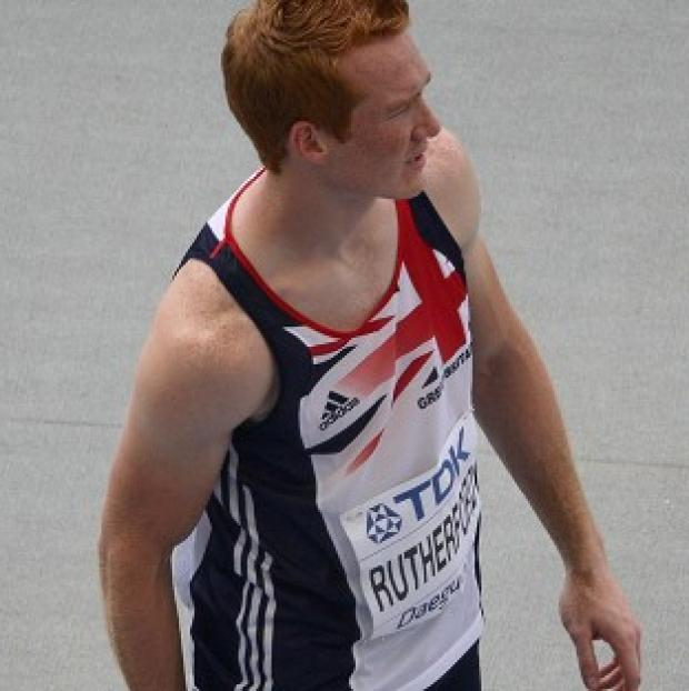 Greg Rutherford landed Great Britain's second athletics gold medal of the evening